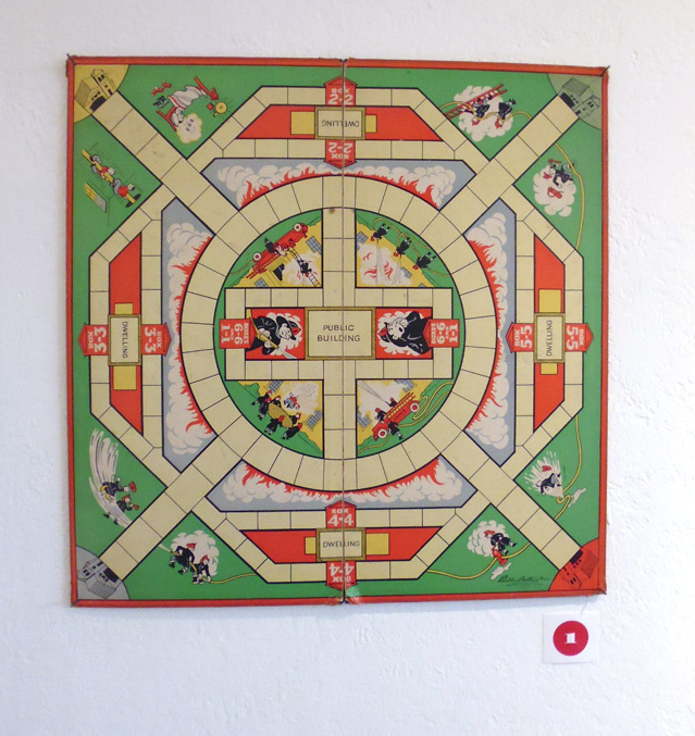 1 Found Art Fire Mandala