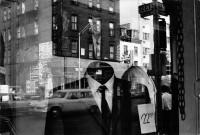 JFK and Liberty street reflection