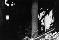 Column survives wreckage